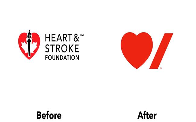 creative logo design ideas Heart & Stroke