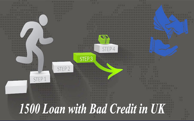 1500 Pound Loan with Bad Credit
