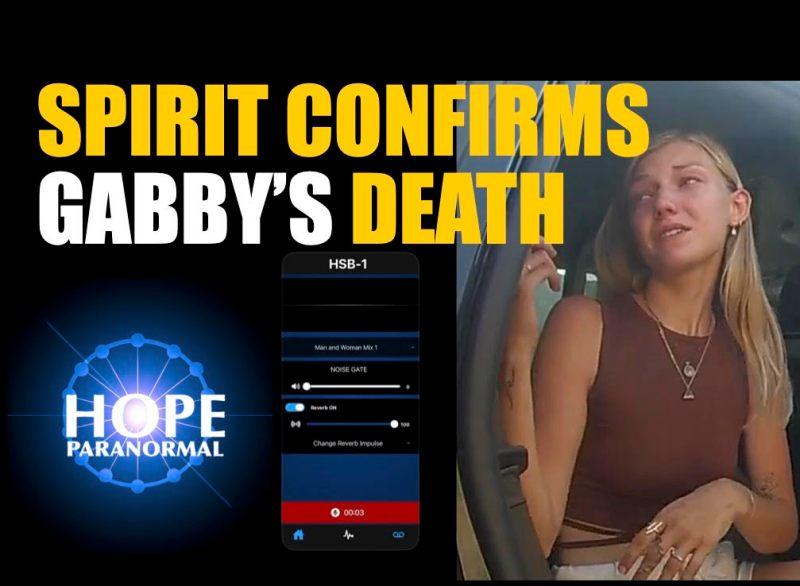 Spirit Confirms Gabby Petito's Death