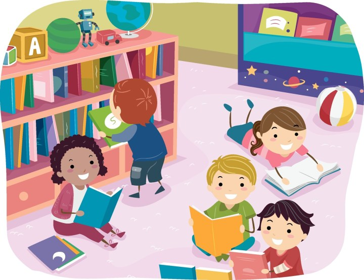 Building speech & language skills in young children using repetitive line books