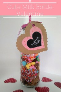 Cute Milk Bottle Valentine