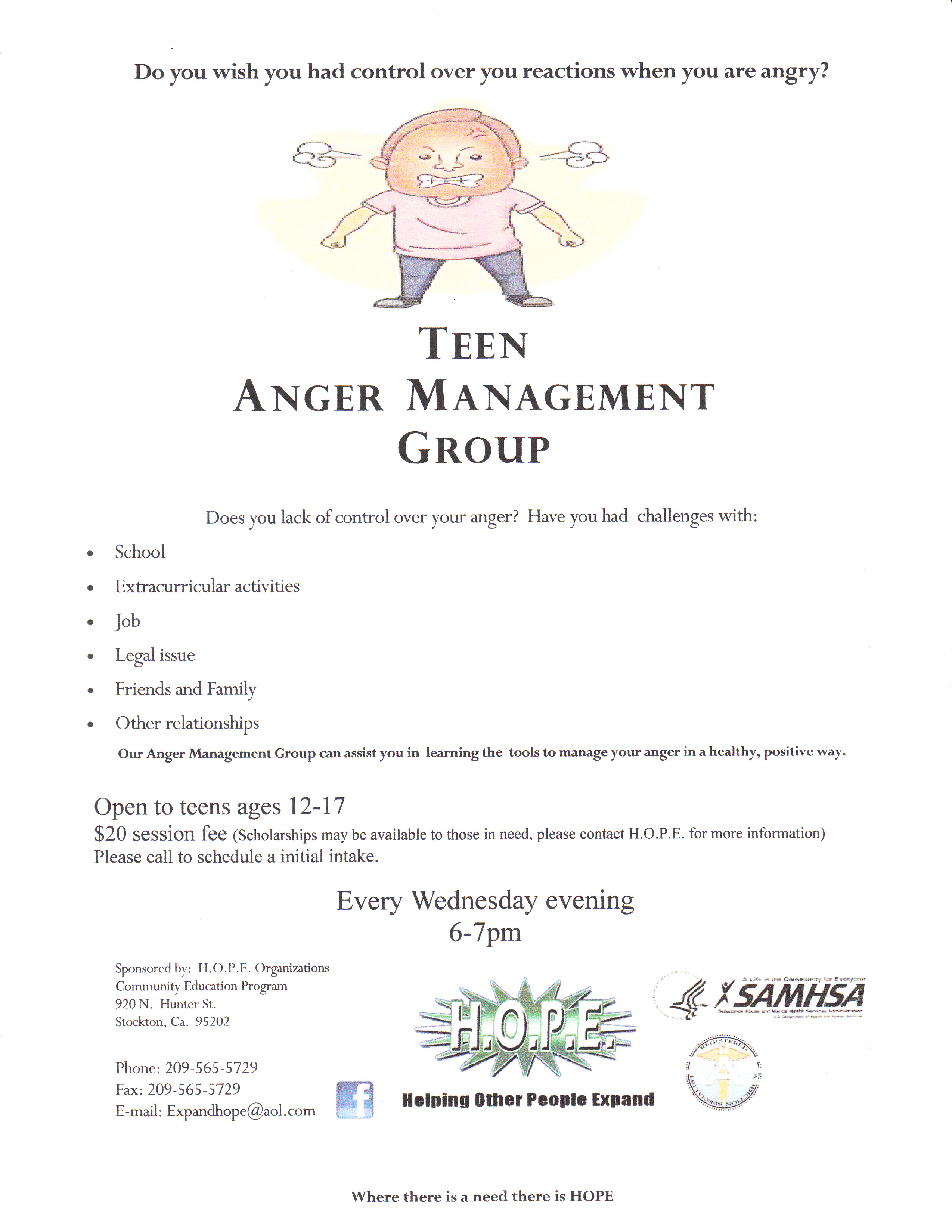 Buy Online Activties For Anger Management