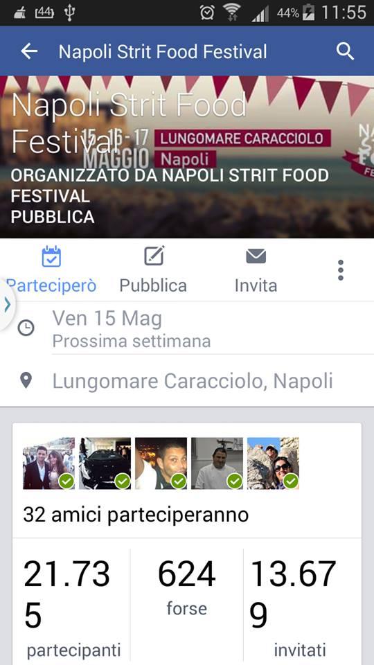 Arriva il Napoli Strit Food Festival. Finalmente, dal 22 Maggio sul lungomare liberato. (2/5)