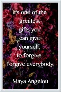 Forgive everybody