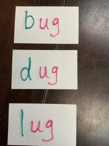 Puffy Paint Multisensory Words