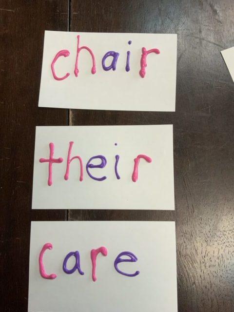 chair their care