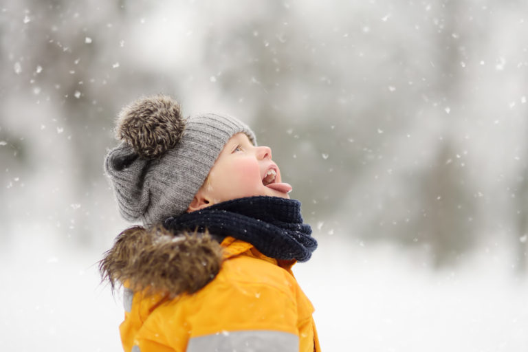 Catching Snowflakes on Tongue