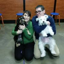 ADOPTED! Penni with her new family!