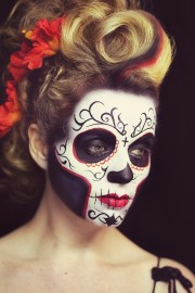 mexican day of dead hairstyles