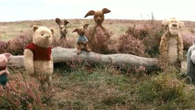 Winnie the Pooh in Christopher Robin