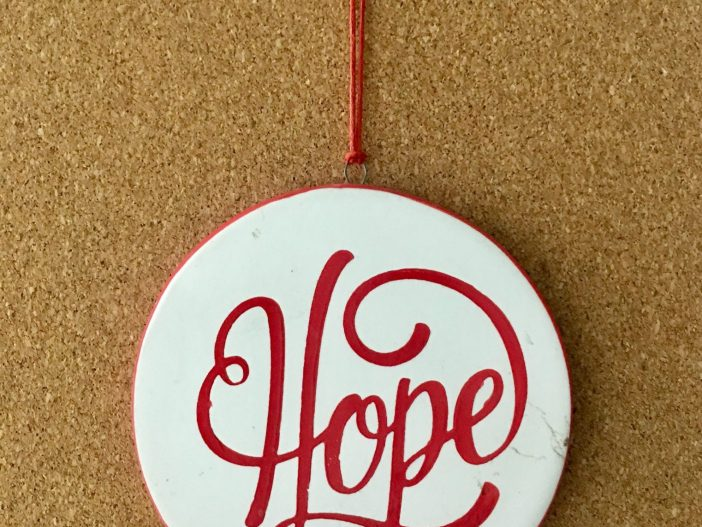 Hope ornament - Inspiration for Hope Surrogacy name