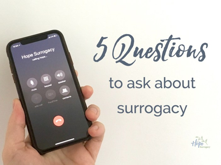 5 Questions to Ask About Surrogacy
