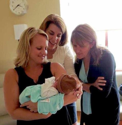 Beautiful baby at Hope Surrogacy!