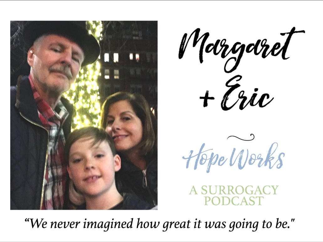 Margaret and Eric reflect on their journey