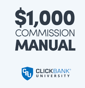 Clickbank University 1K Manual