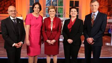 BBC Scottish Leaders Debate