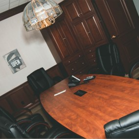 outpatient recovery meeting room