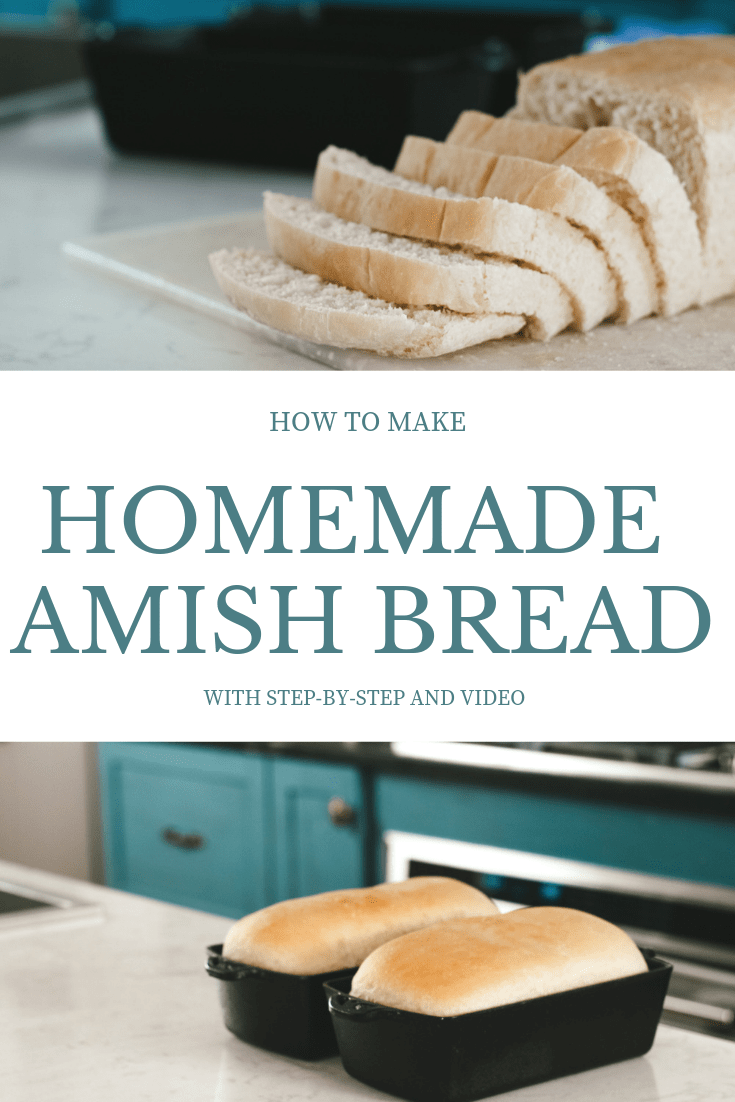 How to make homemade amish bread from scratch in cast iron pans