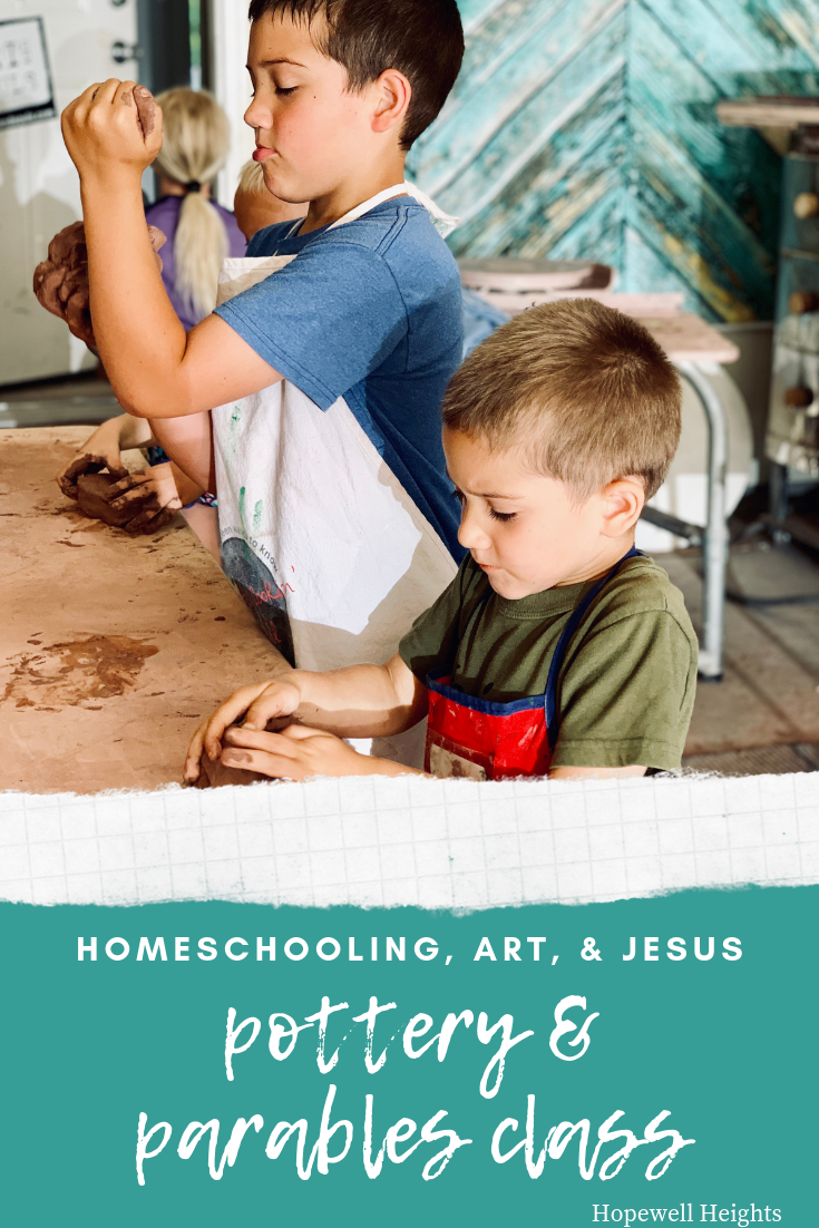 homeschool art christian