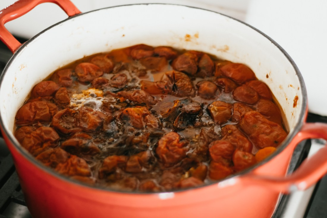simmered sauce