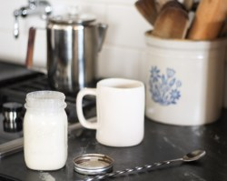 frothy coffee creamer