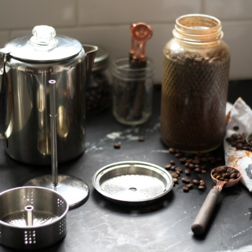 How to Make Coffee with a Stovetop Percolator