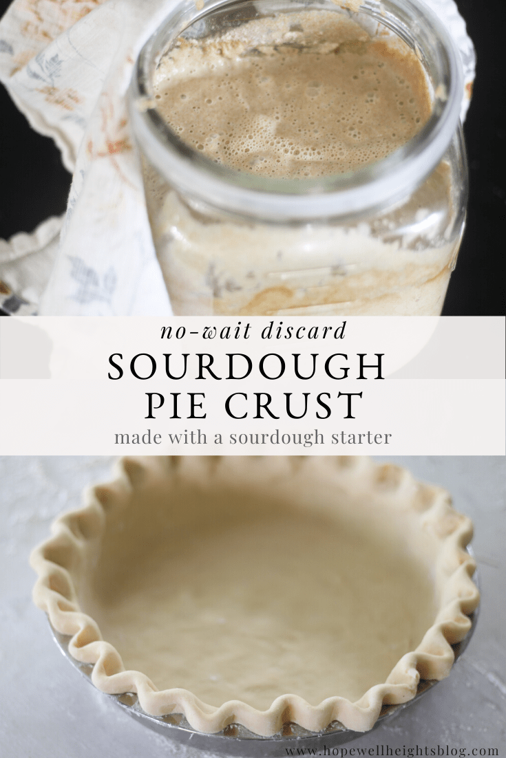 sourdough pie crust