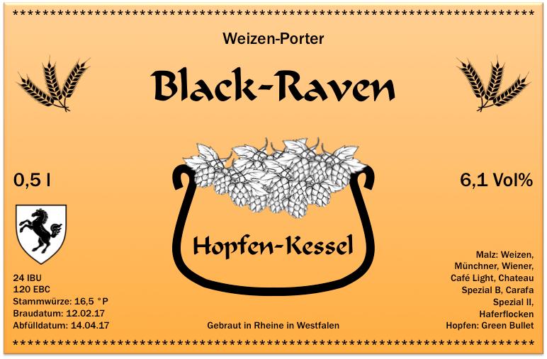 Black Raven Etikett