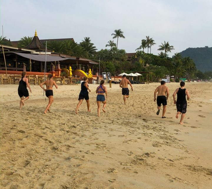 Samui Fitness Retreat BeachRun