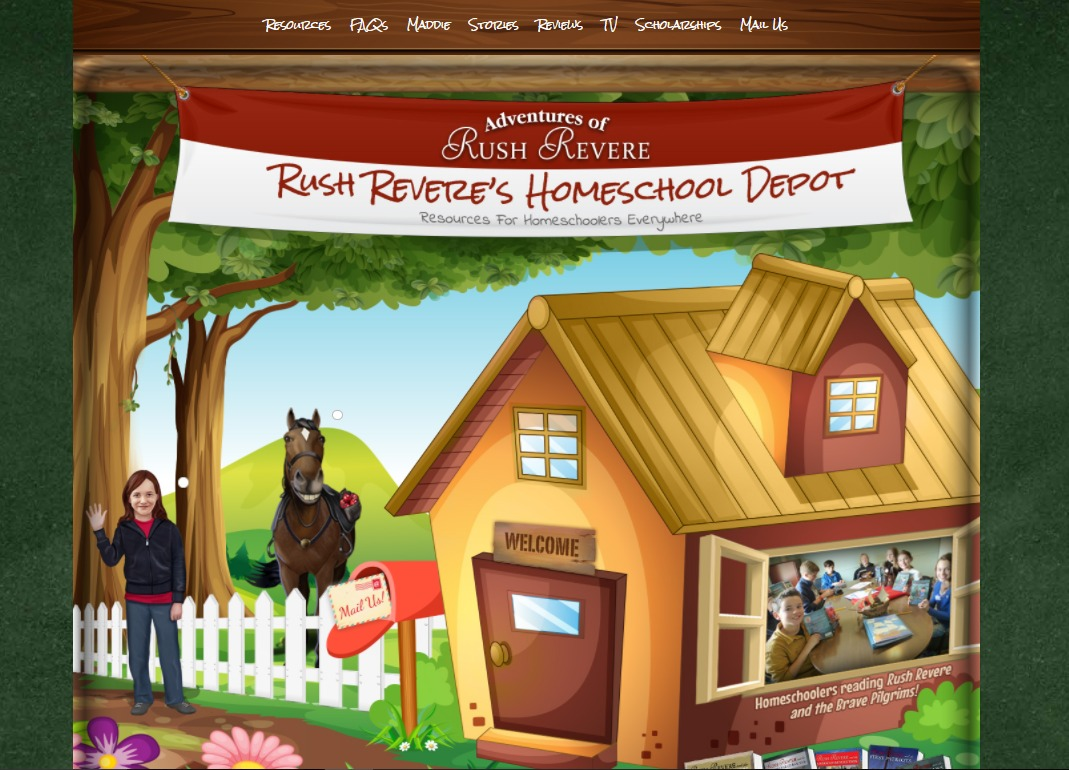 The Adventures Of Rush Revere A Homeschool Crew Review