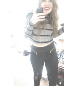Vero Moda outfit selfiez