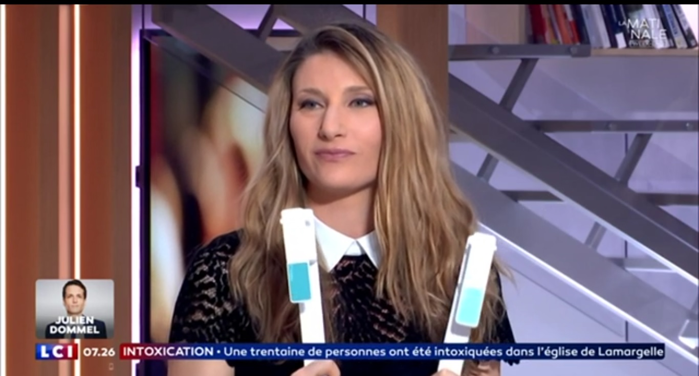 Photo de l'émission de LCI qui montre Hopoli