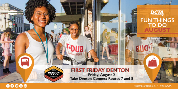 First Friday in Denton TW