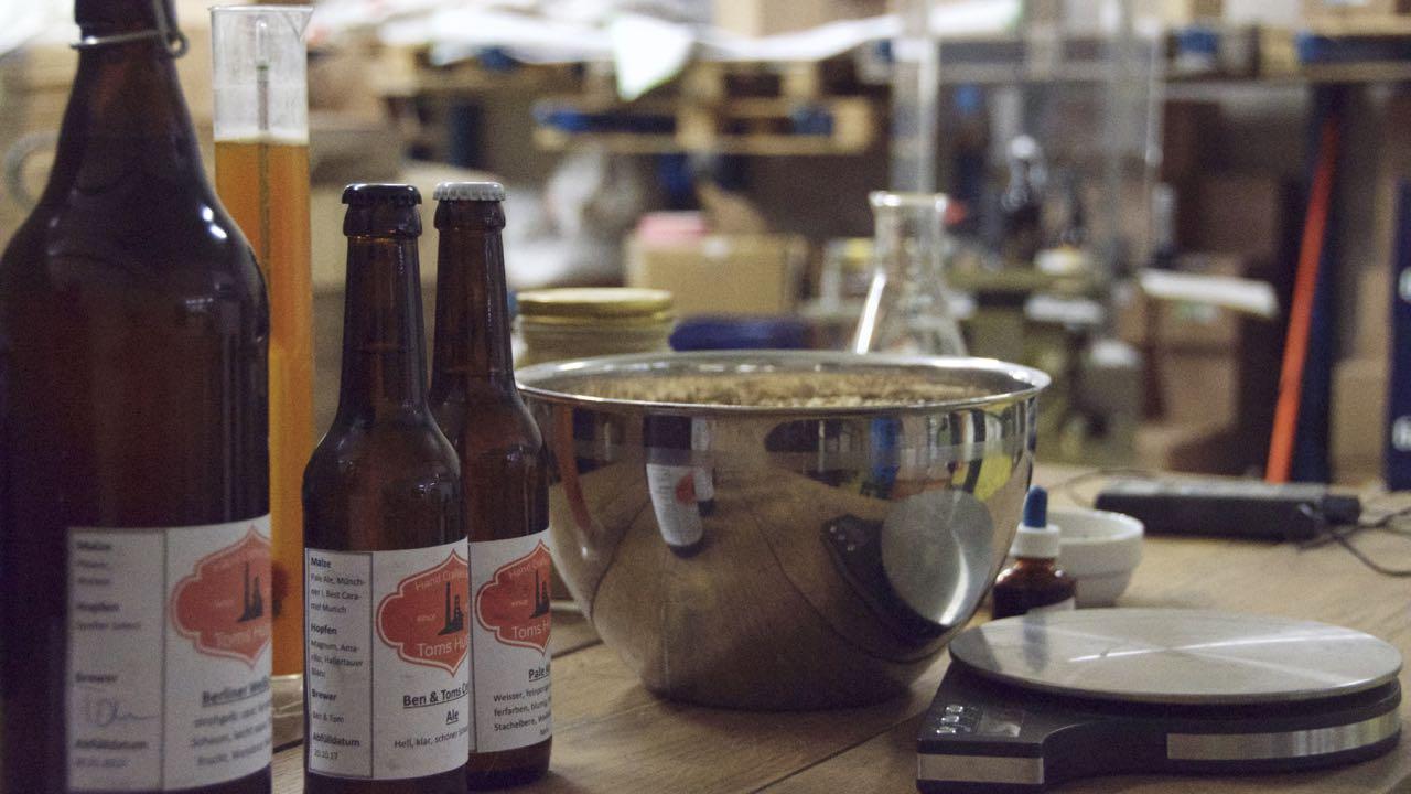 Teamevent von hoponopo I Bier brauen I Jetzt anfragen