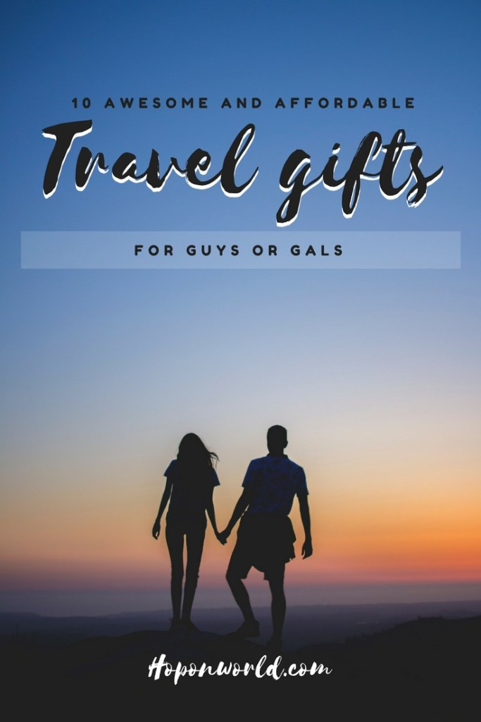 Travel Gifts | Looking for the very best affordable travel gifts but not sure where to start? We share our favourite picks that won't break the bank nor make you look like a cheapskate. These gorgeous gifts are suitable for both guys and gals, so you'll have no trouble finding the perfect gift in a jiffy for that special traveler in your life. #travel #travelgifts #travelessentials #travelgadgets #accessories #besttravelbuys