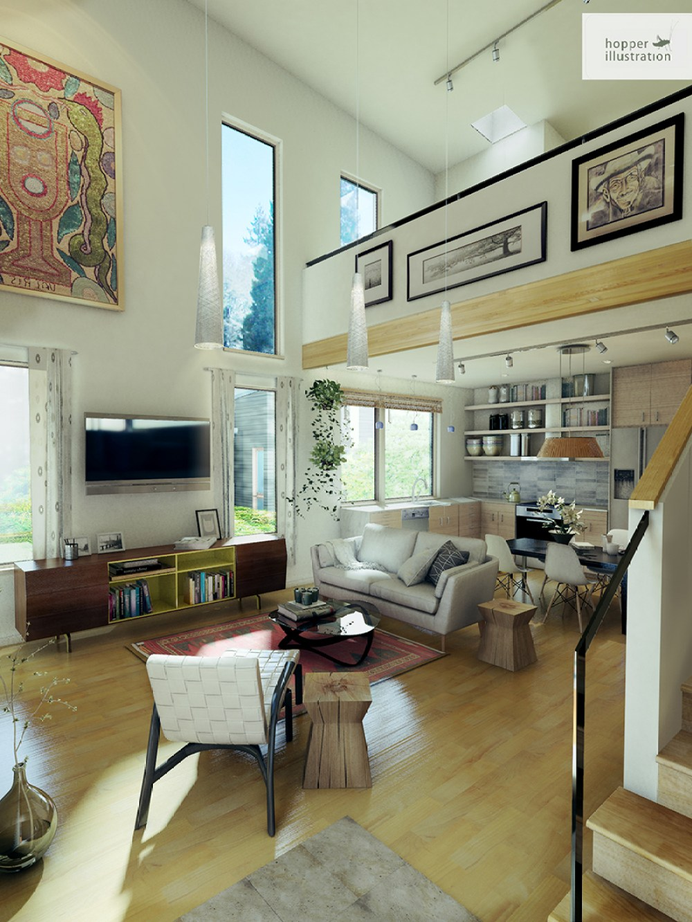 Arcadia_Living_room_rendering