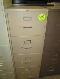 Hoppers Office Furniture - Used 4 Drawer Legal File Cabinets