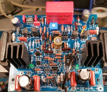Assembled GFA-565 Input Board