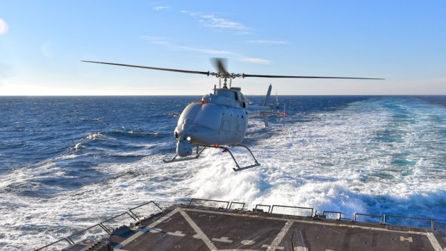Navy Drone Tested
