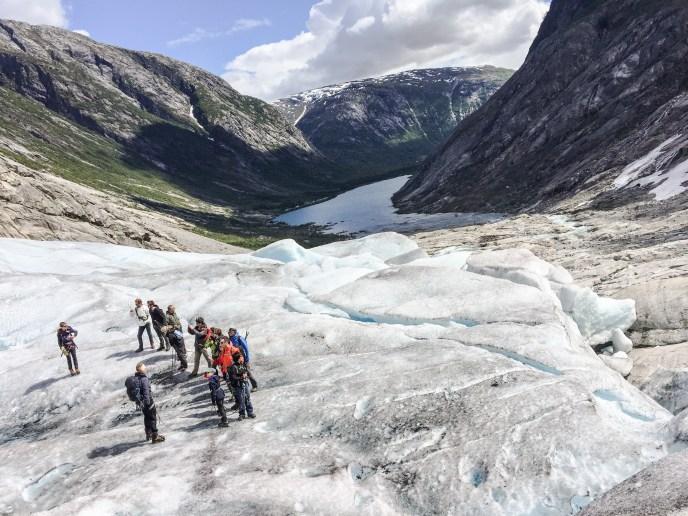 Glacier guiding Nigardsbreen: Short Blue Ice Hike