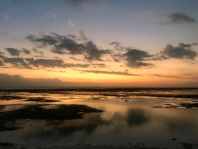 Dreamy sunset at Gili Trawangan