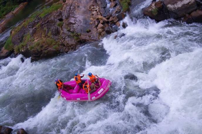 White Water Rafting, Kitulgala