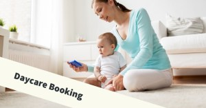 Booking daycare online