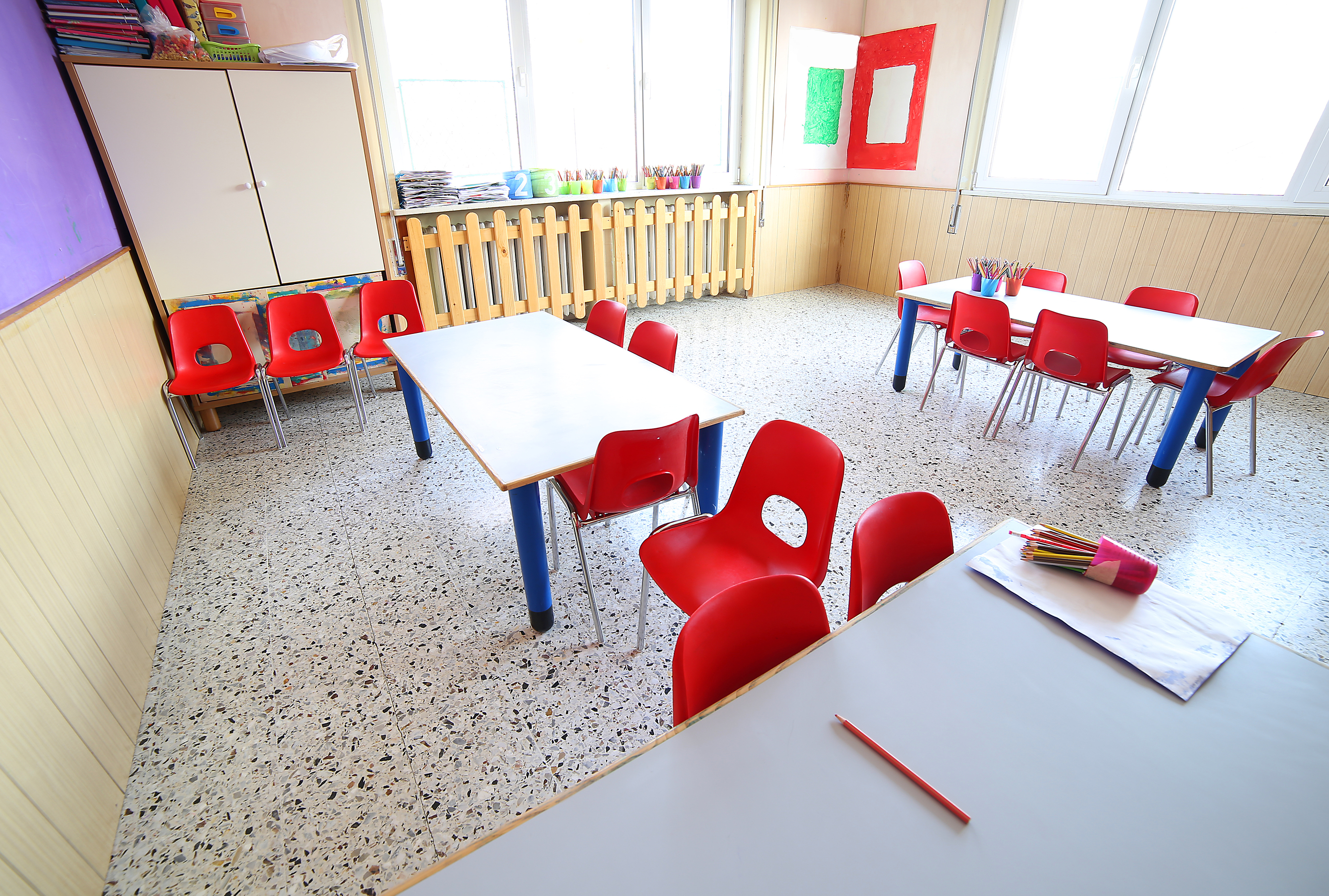 Daycare Setups Involves Many Things Including Buying Your Necessary Classroom Desks And Chairs