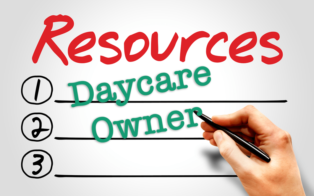 Daycare Owners Resources Master Page