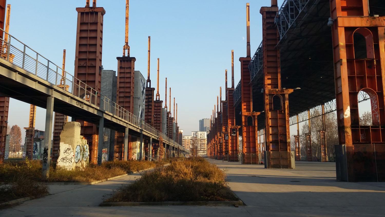 Parco Dora a Torino archeologia postindustriale e arte urbana