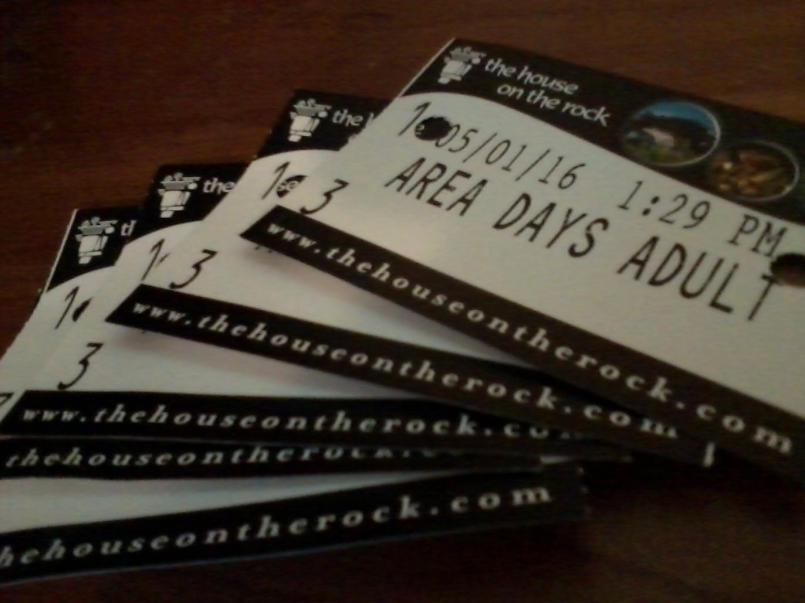 House on the rock tickets