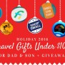 40 Travel Gifts Under 100 For The 2016 Holidays