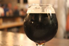 Wolfpack - a black saison, which had a bready, fruity sweetness