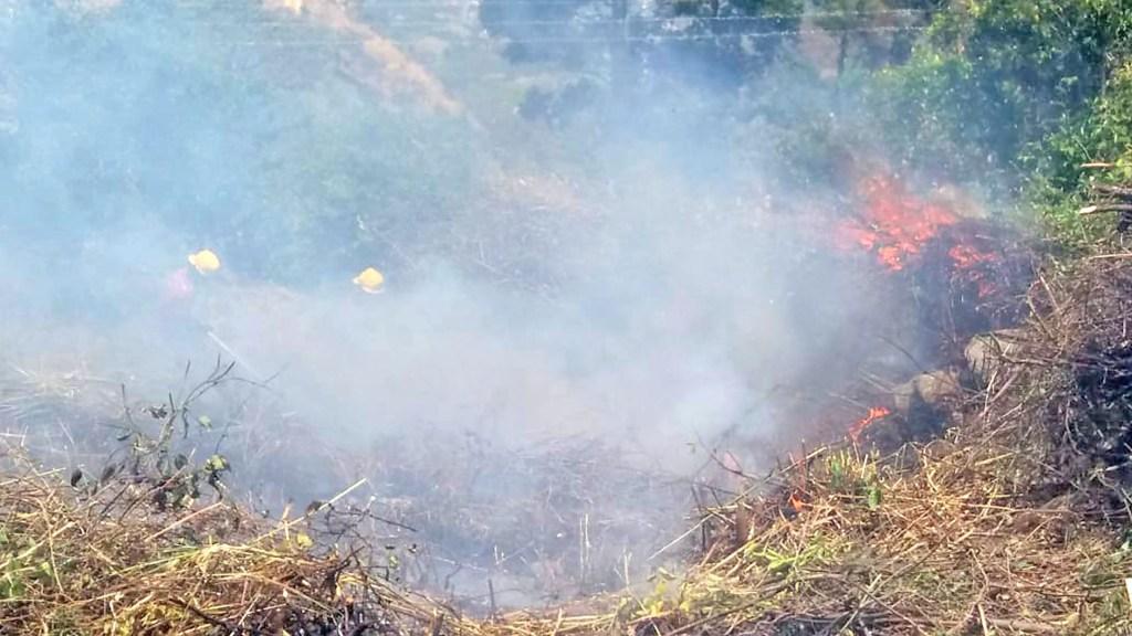 El incendio empezó a eso de las 14:00 del sábado 29 de agosto de 2020.